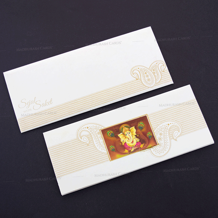 Hindu Wedding Cards - HWC-7606 - 2
