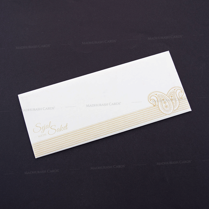 Hindu Wedding Cards - HWC-7606 - 3
