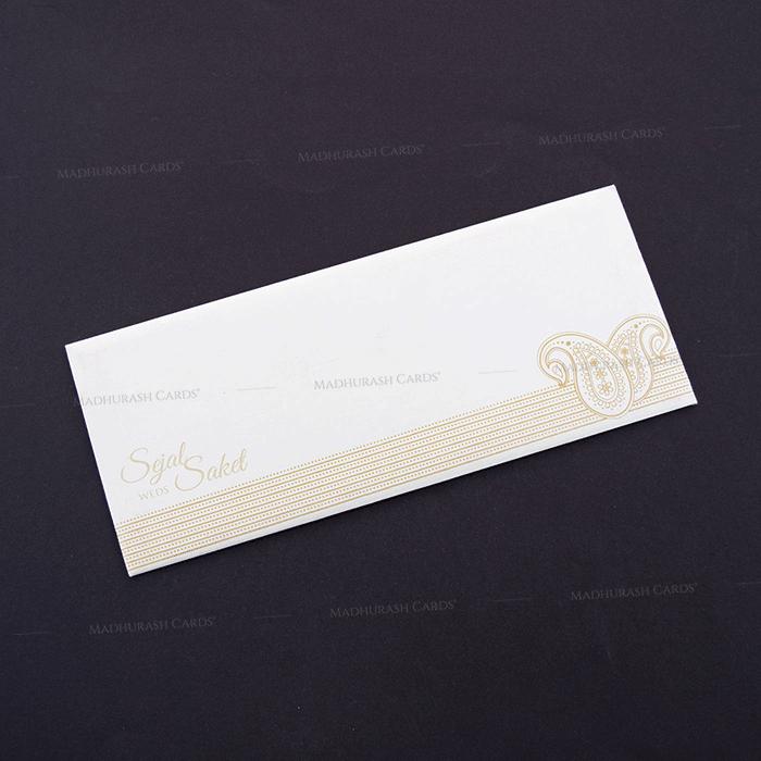 Hindu Wedding Cards - HWC-7606 - 3