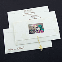 Hindu Wedding Cards - HWC-7607