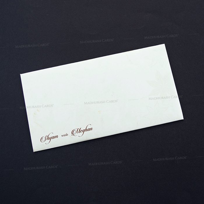 Hindu Wedding Cards - HWC-7607 - 3