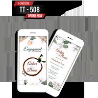 E Wedding Cards - EWC-TT508
