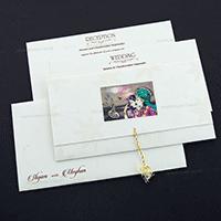 Designer Wedding Cards - DWC-7607