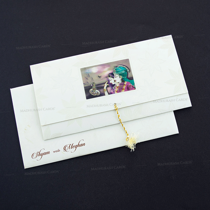 test Designer Wedding Cards - DWC-7607