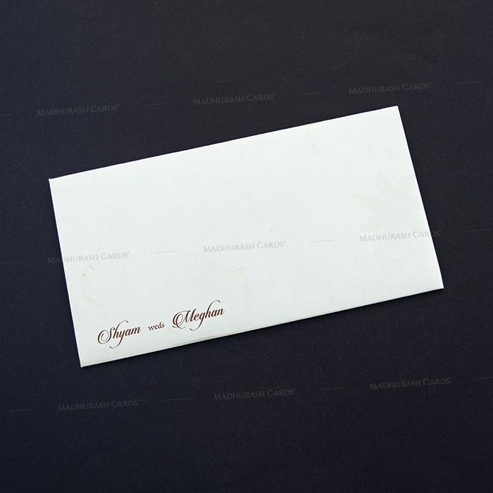 Designer Wedding Cards - DWC-7607 - 3