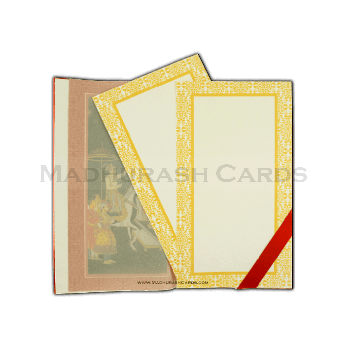 Hard Bound Wedding Cards - HBC-14011 - 5