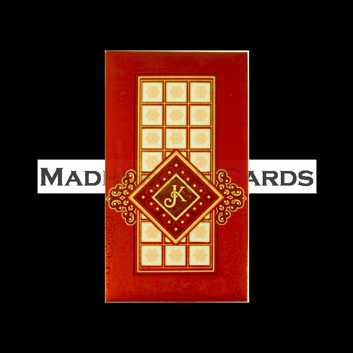 test Hard Bound Wedding Cards - HBC-14011I