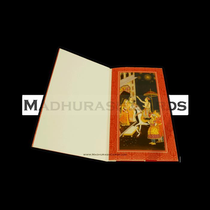Hard Bound Wedding Cards - HBC-14011I - 4