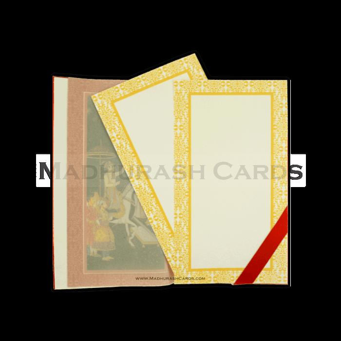 Hard Bound Wedding Cards - HBC-14011I - 5