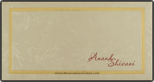 Hard Bound Wedding Cards - HBC-14071 - 3