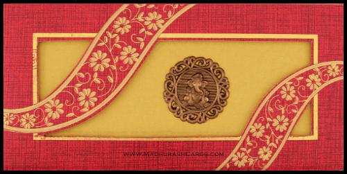 test Hard Bound Wedding Cards - HBC-14107