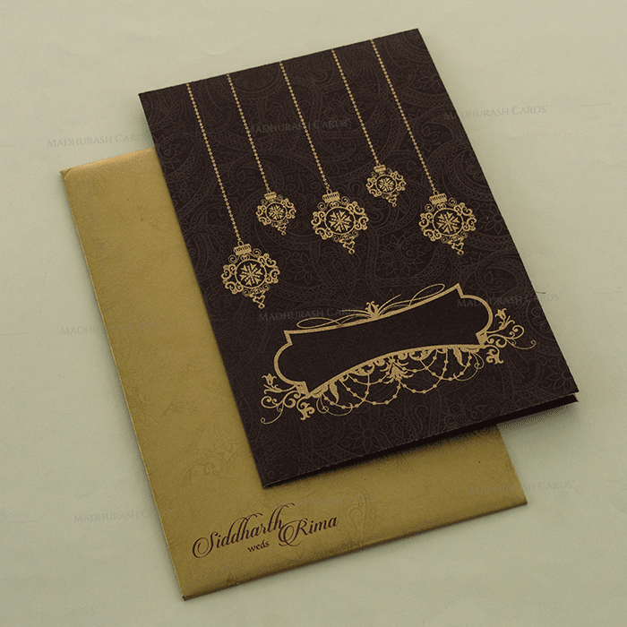 Muslim Wedding Cards - MWC-14127