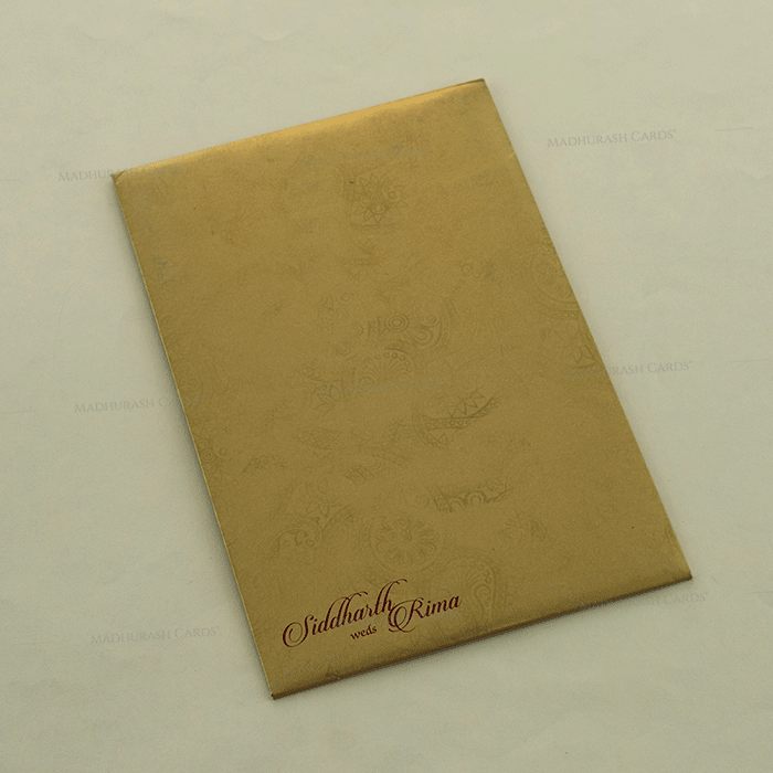 Hindu Wedding Cards - HWC-14127 - 3