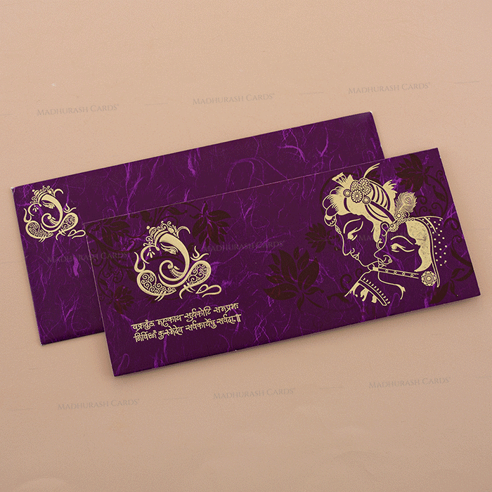 Hindu Wedding Cards - HWC-14217 - 2