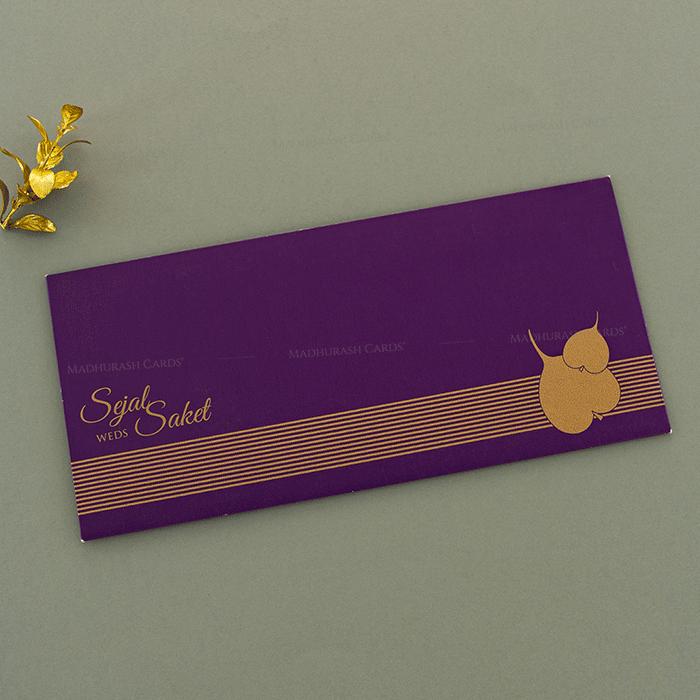 Hindu Wedding Cards - HWC-14152 - 3