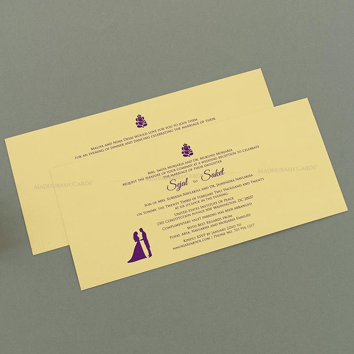 Designer Wedding Cards - DWC-14152 - 4