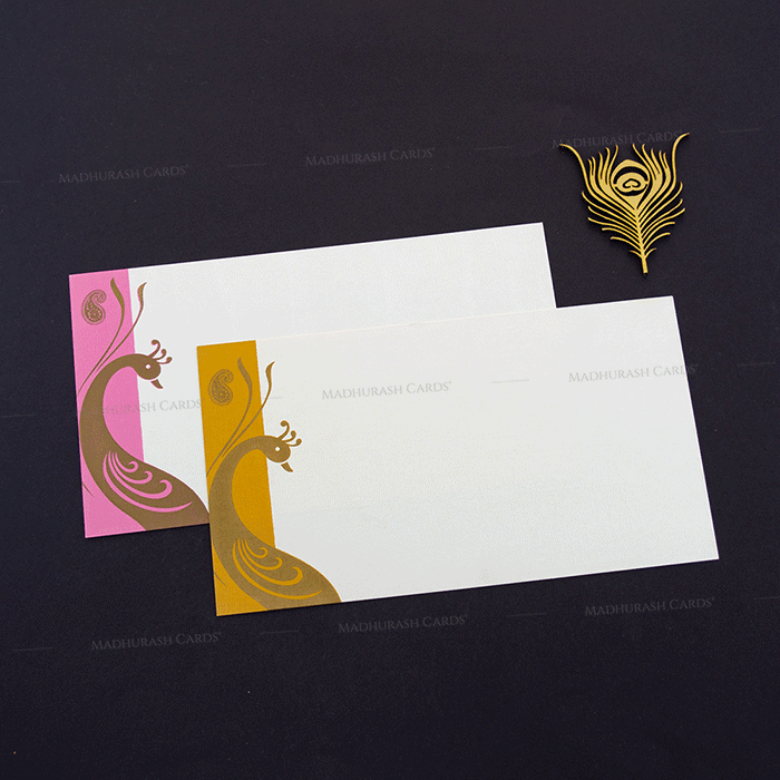 Muslim Wedding Cards - MWC-14170 - 5