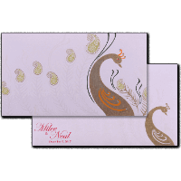 Designer Wedding Cards - DWC-14170