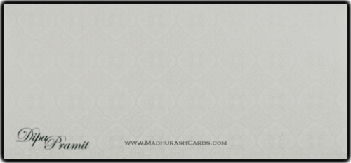 Muslim Wedding Cards - MWC-14257 - 3