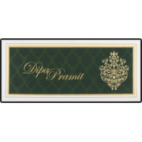 Designer Wedding Cards - DWC-14257
