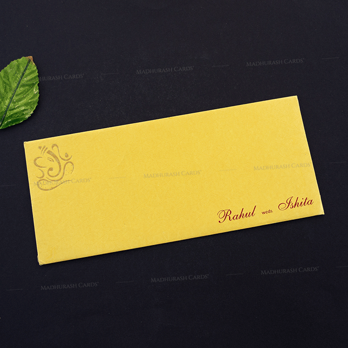 Hindu Wedding Cards - HWC-14268 - 3