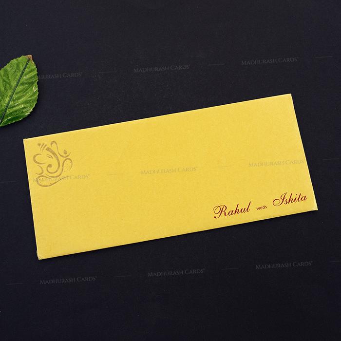 Designer Wedding Cards - DWC-14268 - 3