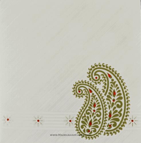 Muslim Wedding Cards - MWC-14272