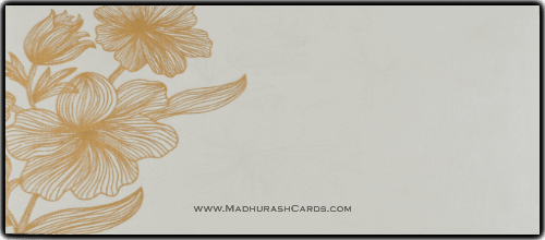 Muslim Wedding Cards - MWC-14361