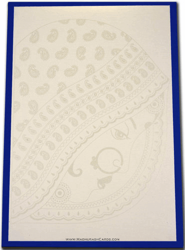 Custom Wedding Cards - CZC-9011BLB - 3