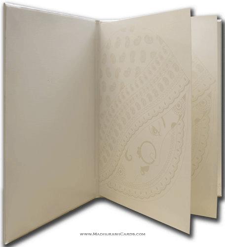 Custom Wedding Cards - CZC-9011BLB - 4