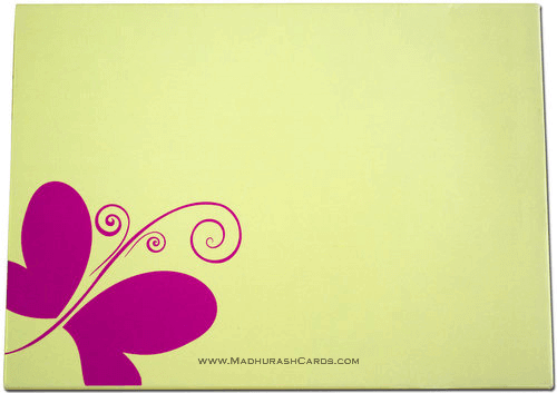 Custom Wedding Cards - CZC-9020P - 3