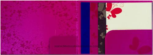 Custom Wedding Cards - CZC-9020P - 4