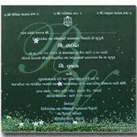 Anniversary Invites - AI-BR - Green