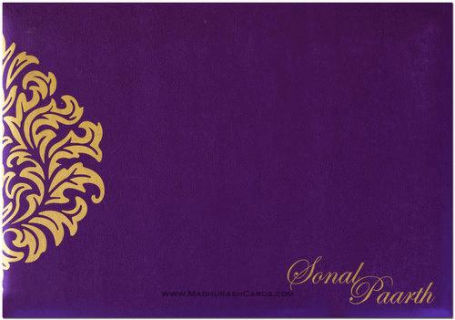 Custom Wedding Cards - CZC-9024B - 3