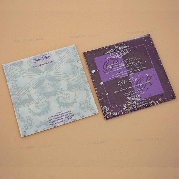 test House Warming Cards - HC-BR- Violet