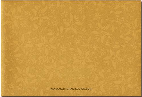 Custom Wedding Cards - CZC-9025BG - 3