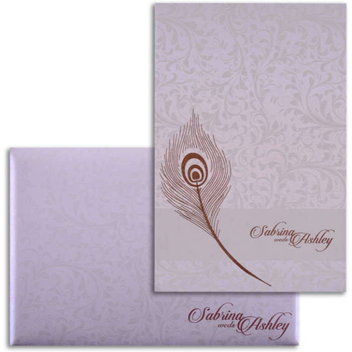 test Custom Wedding Cards - CZC-9028CC