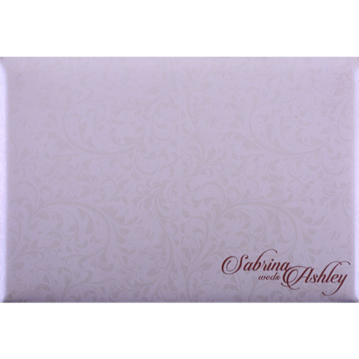 Custom Wedding Cards - CZC-9028CC - 3