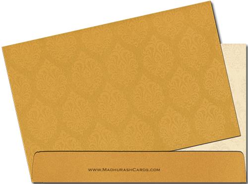 Custom Wedding Cards - CZC-9029BG - 4