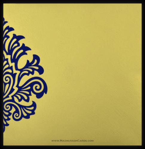 Designer Wedding Cards - DWC-9081BG - 3