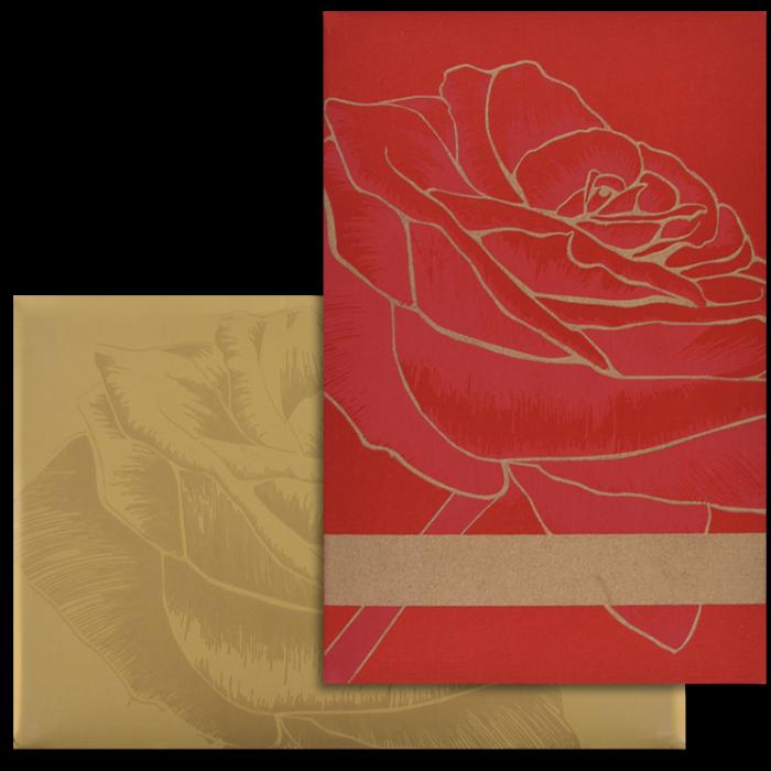 test Custom Wedding Cards - CZC-9101RG