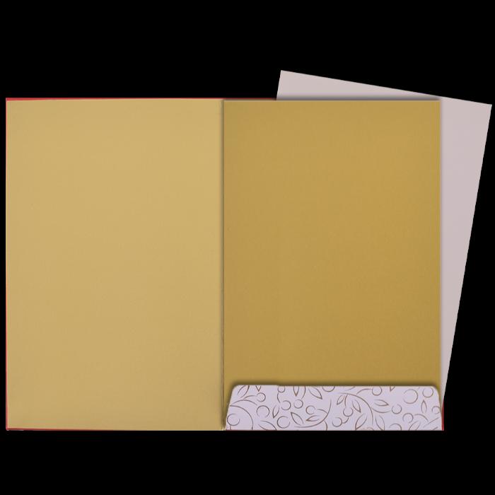 Custom Wedding Cards - CZC-9101RG - 5