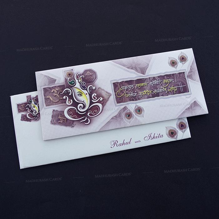 Hindu Wedding Cards - HWC-14235