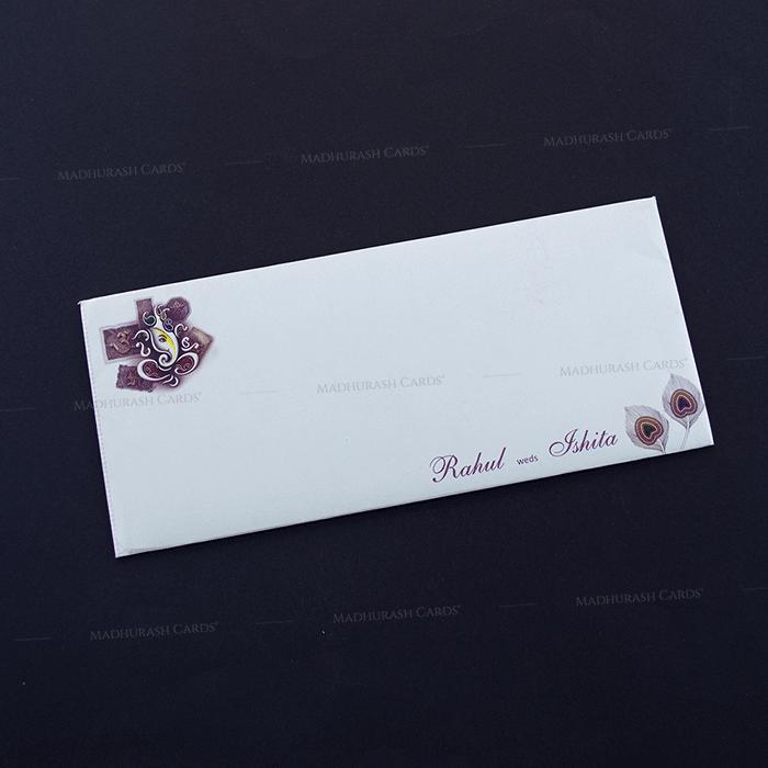 Hindu Wedding Cards - HWC-14235 - 3