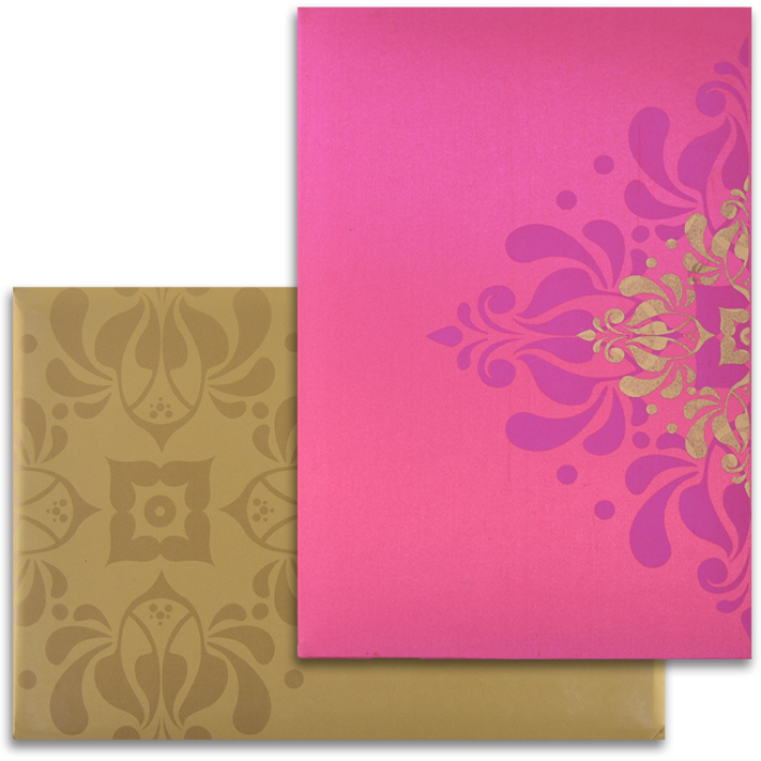 test Custom Wedding Cards - CZC-9103PG