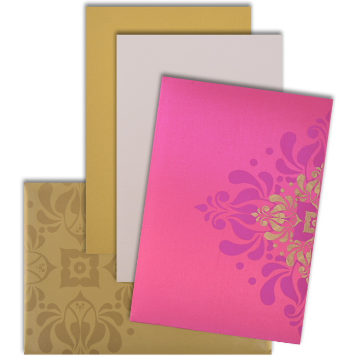 Custom Wedding Cards - CZC-9103PG - 4