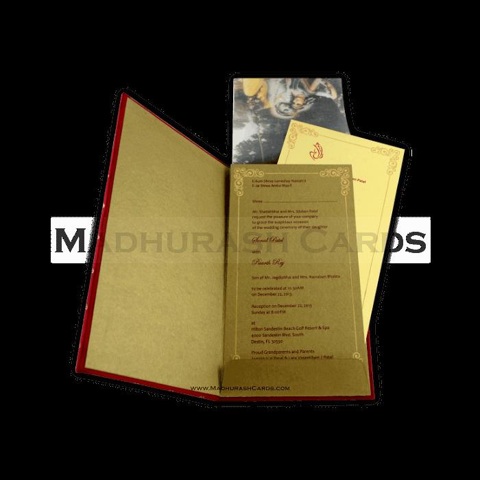 Hard Bound Invitations - HBC-4313 - 4