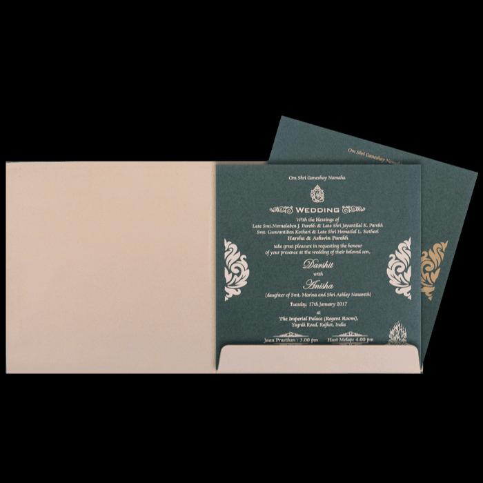 Hard Bound Wedding Cards - HBC-4355 - 3