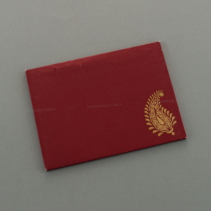 Muslim Wedding Cards - MWC-7046 - 3