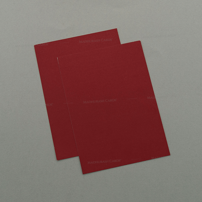 Muslim Wedding Cards - MWC-7046 - 4